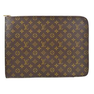 LOUIS VUITTON POCHE DOCUMENTS 38 BUSINESS BAG MONOGRAM M53456 TH0910 83295
