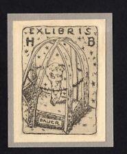09)Nr.168- EXLIBRIS- Hermann Bauer