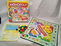 Monopoly junior party. Age 5+ players 2-4  By Hasbro.