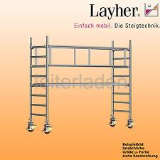 Layher Uni Standard Alu Gerüst 1101 Fahrgerüst Rollgerüst Alugerüst fahrbar