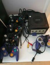 Nintendo gamecube konsole schwarz , 5 Controller, memory Card