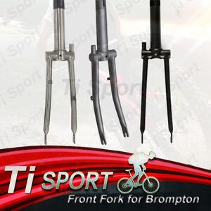 TiSport /Titanium Front Fork for Brompton