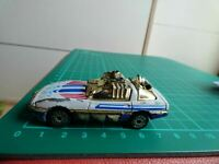 Rare Matchbox Road Blasters 1984 Chevrolet Corvette 1:56 Purple Base Toy Car