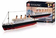 Sluban Baustein Set Titanic XXL Bausteine Schiff Baustein 1012 Teile Puzzle 3D