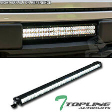 "Topline For Chevy T3C 30"" 150W CREE LED Light Bar 1-Row Spot Beam Work Fog Lamp"