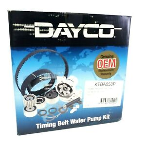 DAYCO KTBA058P Genuine Car Timing Belt Water Pump Kit Hyundai Mitsubishi 88 - 98