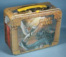 1980 Ray Harryhausen Clash of the Titans Original Metal Lunch Box Pegasus Kraken