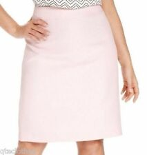 KASPER $79 NEW Pink Textured Knee-Length Straight Lined Skirt Plus 24W 3X QCO