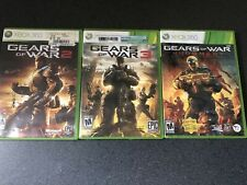XBOX 360 Lot Of 3 Gears Of War 2 3 & Judgement CIB