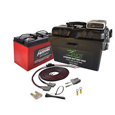 Power AGM, Zenot Power 12 Volt Dual Battery System kit 135 AMP and DC-DC Charger