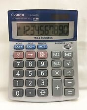 CANON LS-100TS TAX & BUSINESS CALCULATOR 10 DIGIT DUAL POWER