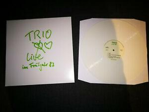 Trio - live im Frühjahr 1982 LP / Stephan Remmler --> nur 250 Stück !!!
