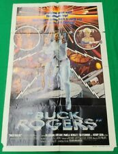 "Buck Rogers Movie Poster (1979) 27"" x 41"" original one-sheet folded"