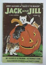 Vintage Children Magazine Jack & Jill Oct 1961