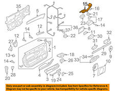 AUDI OEM 09-10 A8 Quattro Front Door-Switch Housing Right 4E1959522A12T