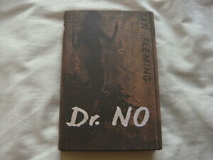 DR NO - Ian Fleming 1st Edition 1958 - 1st/2nd First Edition James Bond