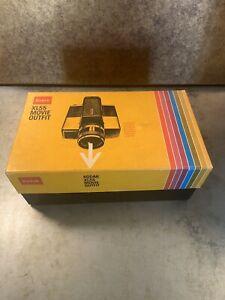 Vintage 70s Kodak XL55 Super8 Movie Film Camera Ektar Original Box Papers