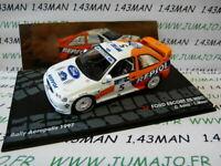 RIT11M voiture 1/43 IXO Altaya Rallye FORD ESCORT RS WRC Acropolis 1997 C.SAINZ