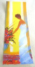 """Emile Bellet """"La Robe Bleue"""" Giclee in Color Paper Signed in Pigment Unframed"""