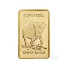 1stk Elefant Gold Gedenkmünzen Geschenk Nett Hochwertige