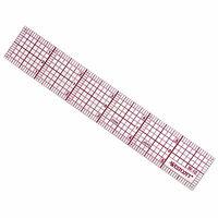 "Westcott C-Thru Transparent 6"" X 1"" 8ths Graph Ruler W-10"