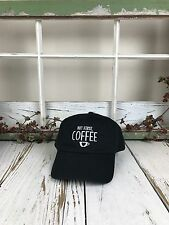But First Coffee Embroidered Baseball Cap Dad Hat - Many Styles