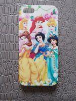 Coque Plastique Rigide Housse Etui Cadeau IPHONE 5 - Princesses DISNEY