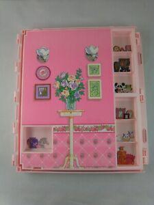 Vintage Mattel 1992 Barbie Fold N Fun House REPLACEMENT PART panel bedroom ++