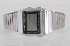 CASIO DATA BANK WR TELEMEMO 50 675 DB-520 LCD WRIST WATCH 2065B