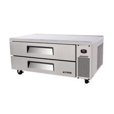 Turbo Air Tcbe-52Sdr(E)-N Chef Base Refrigerator, Stainless Steel, 2 Drawers (52