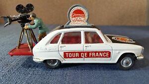 Vintage - Corgi Toys Renault 16TS Tour De France Paramount Film Movie Cameraman