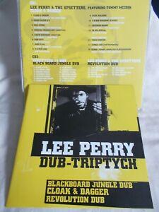 LEE PERRY & THE UPSETTERS - DUB-TRIPTYCH - UK 2 X CD SET - TROJAN - REGGAE