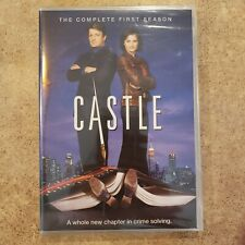 CASTLE: THE COMPLETE FIRST SEASON (3-disc DVD set, Region 1, 2009) NEW & SEALED!