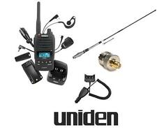 UNIDEN UH850s 5W 80CH UHF HANDHELD RADIO+CK850+AT880 6DBI TWIN ANTENNA PACKAGE