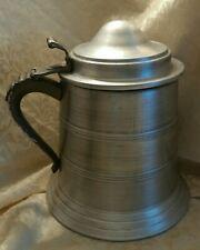 Vintage 60'S Heraldic Aluminum Tankard Mug Ice Bucket Chest Cooler