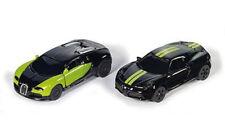 6309 Siku 1:50 Black & Green Special Edition Bugatti Veyron Alfa Romeo 4C