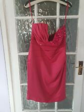 New Jane Norman Pink  Dress Size 16 BNT