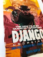 Dijango Unchained Art Print Movie Poster LARGE #DJNG15
