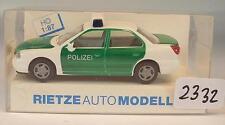 Rietze 1/87 50574 Ford Mondeo Ghia Limousine Polizei OVP #2332