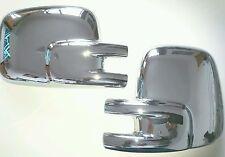 COPPIA VW T4 EFFETTO CROMO Specchio Copre Transporter Camper Van RHD 1990-2003
