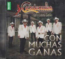 Los Cardenales de Nuevo Leon Con Muchas Ganas CD New Nuevo