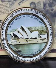 Vintage Cabinetplate - Sydney Opera House Opening 1973 Commemorative Plate
