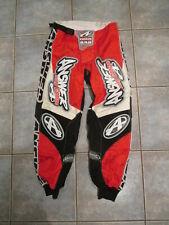 Answer Edge 840 Red Black Racing Dirt Bike BMX Motocross Pants Men's Size 28