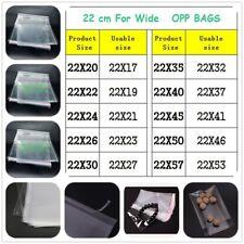 Pantalla de cereza en bolsa de celofán Celofán Bolsas de Plástico Transparente Auto adhesivo cáscara sello OPP Prenda