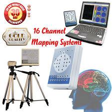 NEW, 16CH EEG electroencephalogram 16 Channel Digital EEG Mapping Systems Brain
