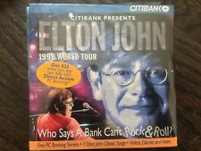 Elton John 1998 World Tour Live SEALED RARE CD-ROM