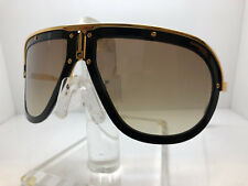 New Authentic CARRERA SUNGLASSES AMERICANA 02M2 86 BLACK/GOLD BROWN MIRROR LENS
