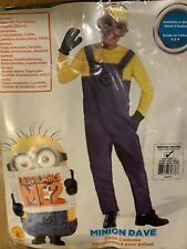 Despicable Me 2 Minion Dave Costume Child Medium New in Package