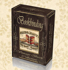 115 Vintage Old Books Bookbinding Tool Gilding Needle Thread Leather Kit DVD 252