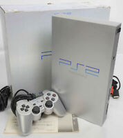 PS2 SILVER Console System SCPH-50000 Only for NTSC-J 2315334 Tested Playstation2